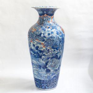 Grote Japans porseleinen vaas